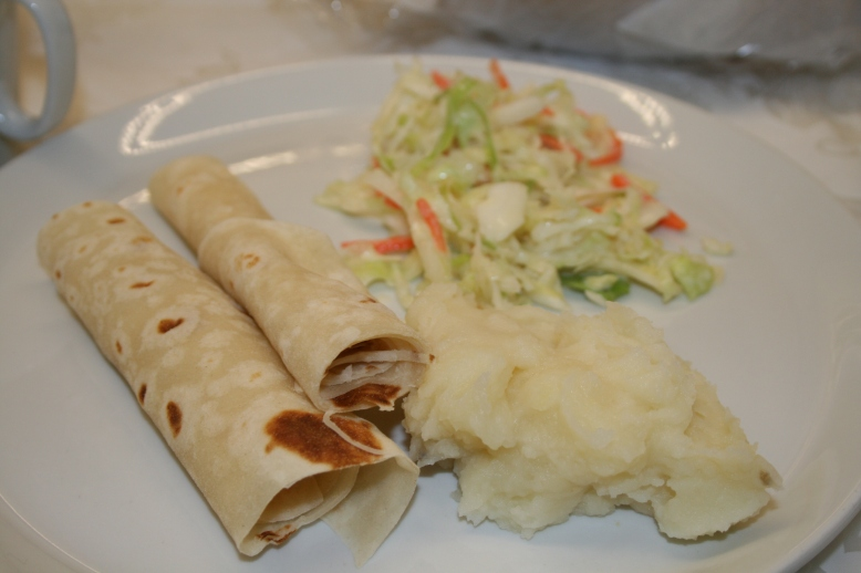 Lefse! Now we're talking!