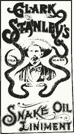 Stanley's snake oilSource: Wikipedia