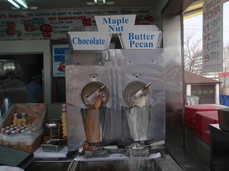 Custard machine