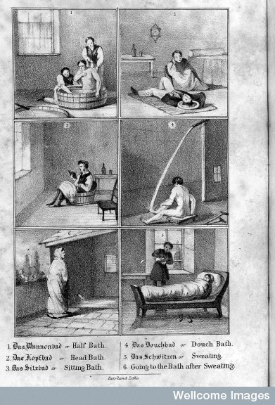L0025612 R.T. Claridge, Hydropathy, or the cold water cure...